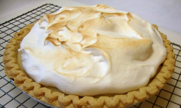 The Gentle Chef Aquafaba Meringue Pie