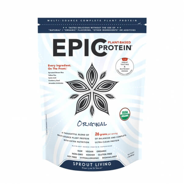 Sprout Living Epic Vegan Protein powder Original