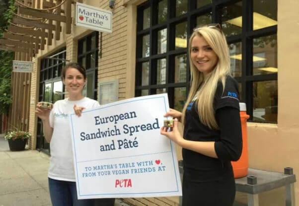 PETA donates $15,000 in vegan pate to food banks