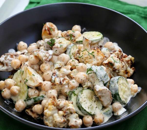 vegan richa potato cauliflower salad