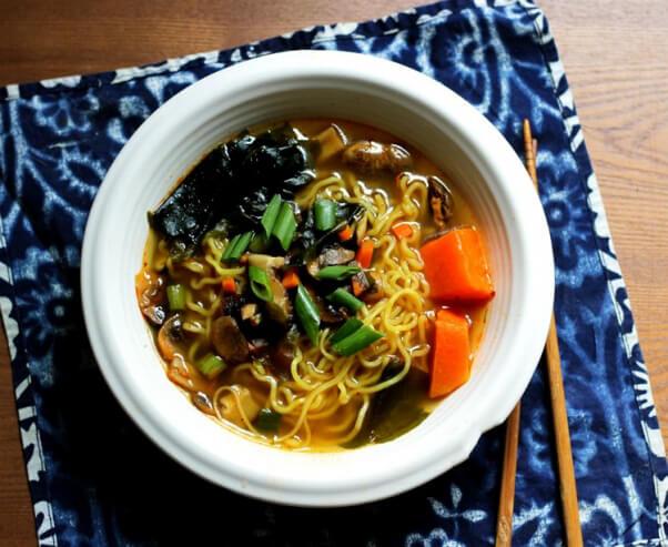 Vegan Korean Ramen