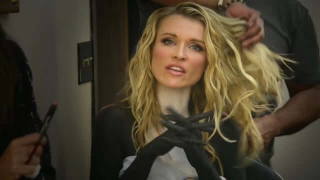 Model Joanna Krupa Strips Naked For A Good Cause!