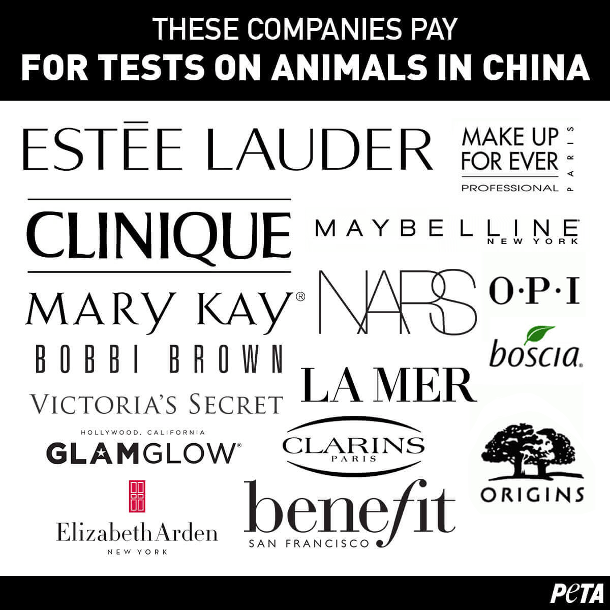 list of animal cruelty free products