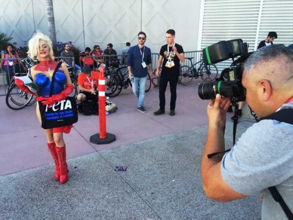 Courtney Stodden as Captain Marvel