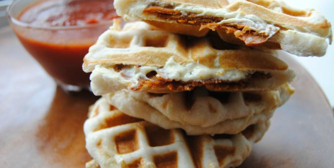 17 Vegan Foods You Didn't Know You Could Put in Your Waffle Iron