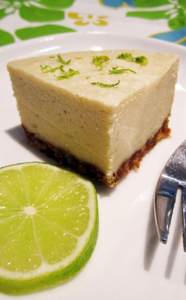key lime cheesecake vegangela