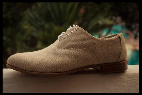 the white pariah oxford shoe