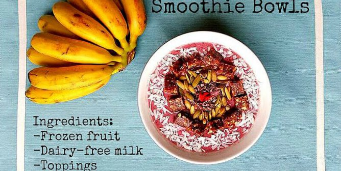 10 Smoothie Bowls That'll Make You a Morning Person