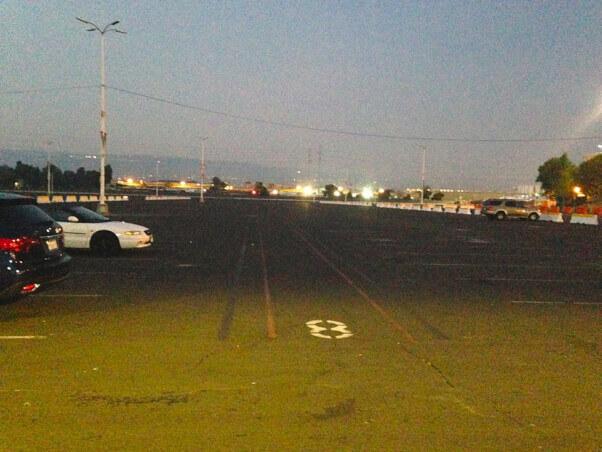 Ringling parking lot