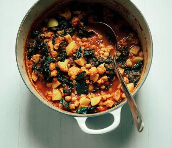 one pot recipes for kale cauliflower soup