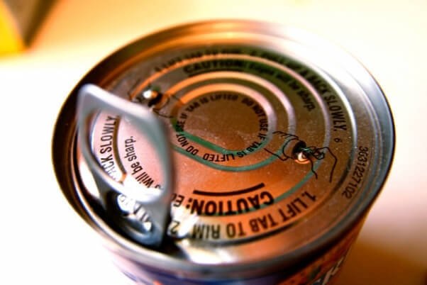 pop-top-can for rescue kit