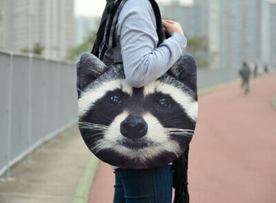 raccoonbag