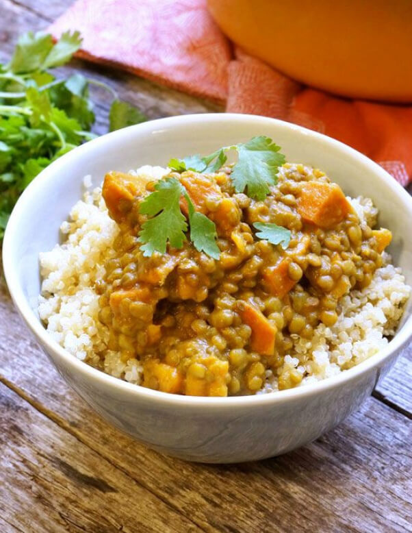 Sweet Potato Curry One Pot Recipe