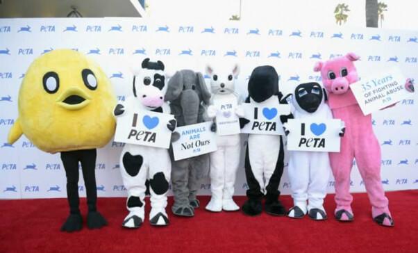 PETA friends at 35th Anniversary Gala