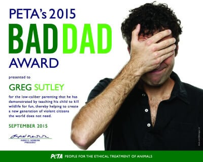 Bad Dad Award' Goes to Man Who Gave His 9-Year-Old a Bear