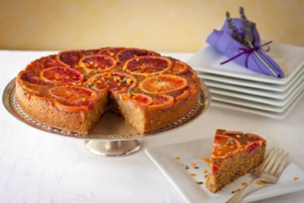 Blood Orange Cake Dessert