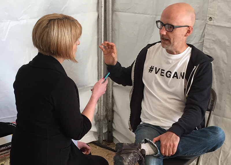 peta nuns rally for the pope and moby sings praises of vegan diet