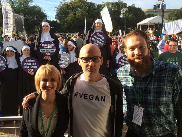 Moby with Nuns