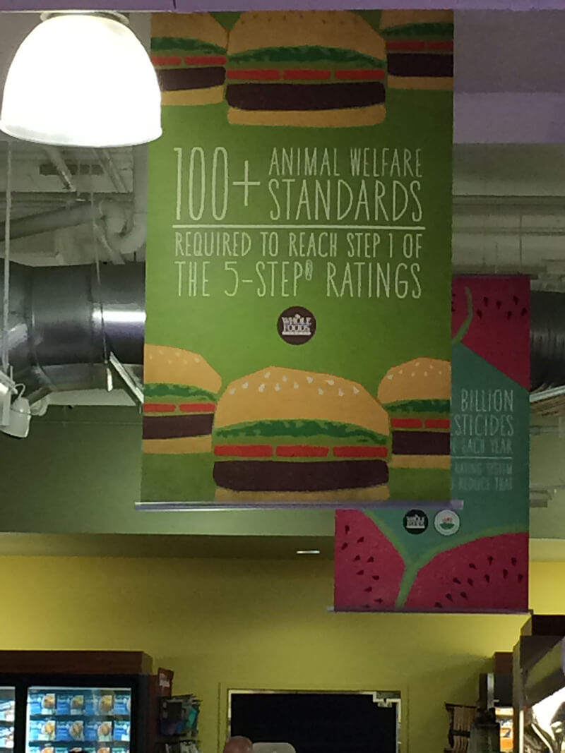 Whole Foods Animal Welfare Rating