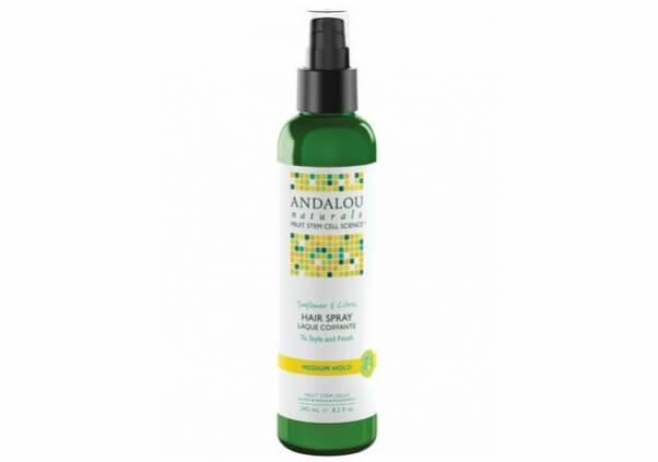 andalou hair spray