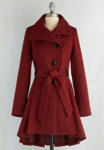 mod cloth coat