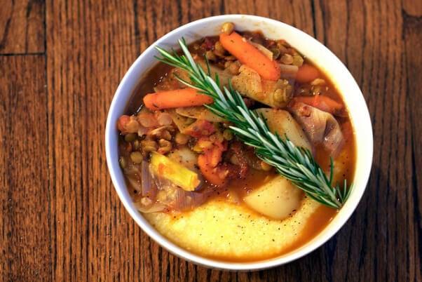 rustic stew vegetable soup