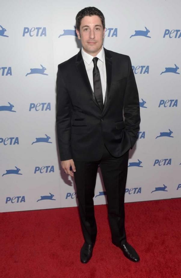Jason Biggs at PETA's 35th Anniversary Gala