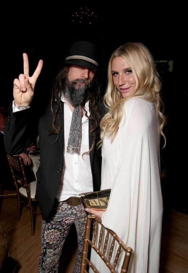 Rob Zombie and Kesha