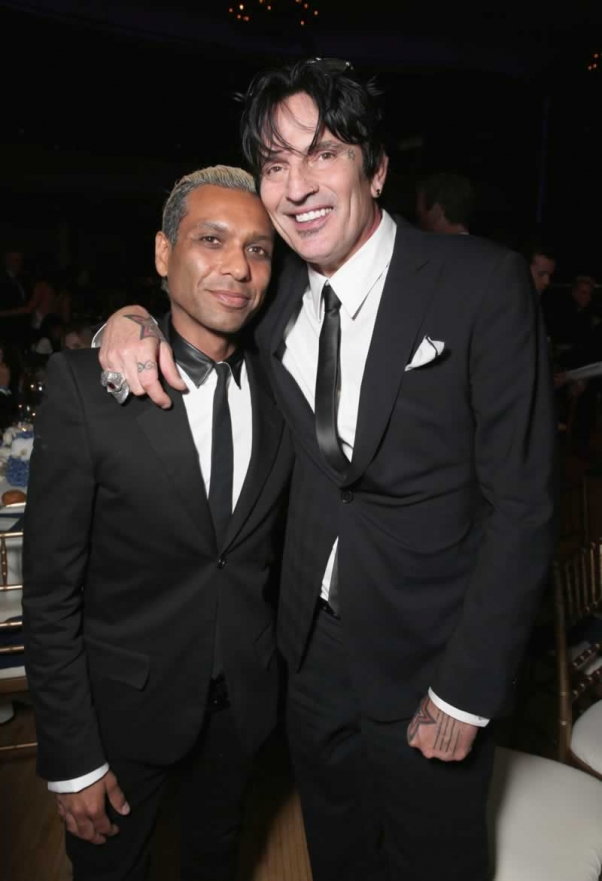 Tony Kanal and Tommy Lee