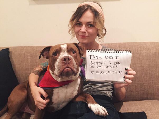 Bridget and Tank