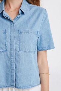 Denim shirt F21