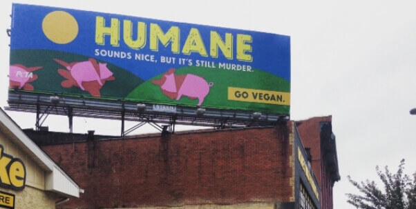 HumaneMeatBillboard