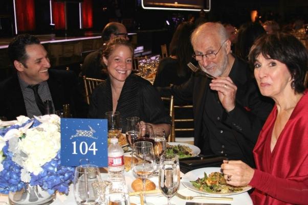 James Cromwell and Company Enjoying PETA Gala Dinner