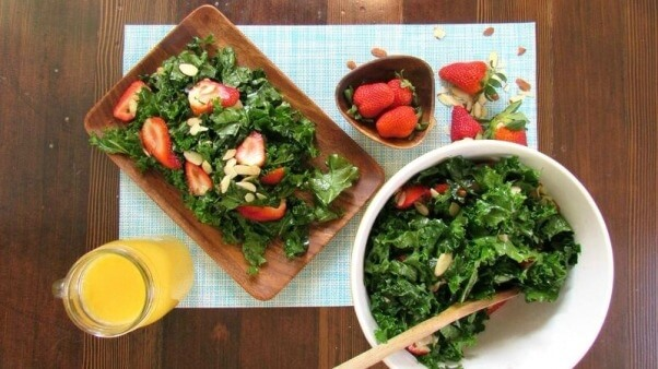 Strawberry-Almond-Salad