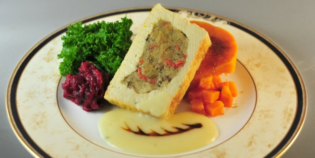 Thanksgiving Roast with Sage Stuffing