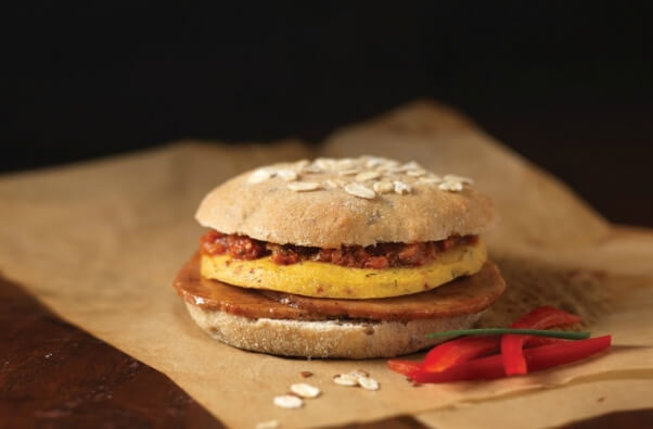 Vegan-Ham-Chickpea-Patty-Sundried-Tomato-Spread