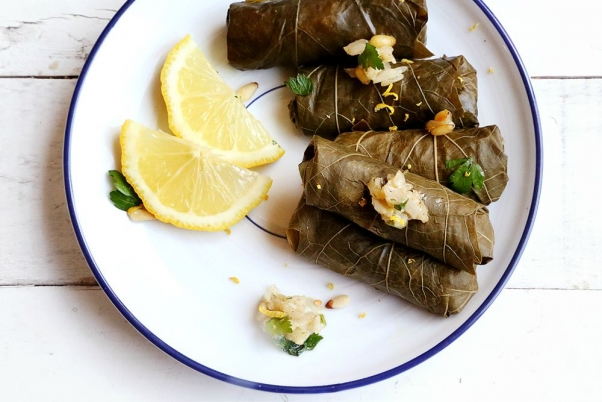 Vegan_Stuffed_Grape_Leaves_Dolma_Brown_Rice_Recipe_001