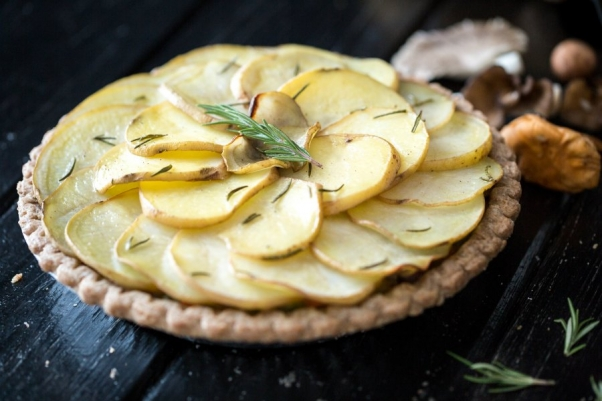 Wild-Mushroom-Potato-Pie Keepin it Kind