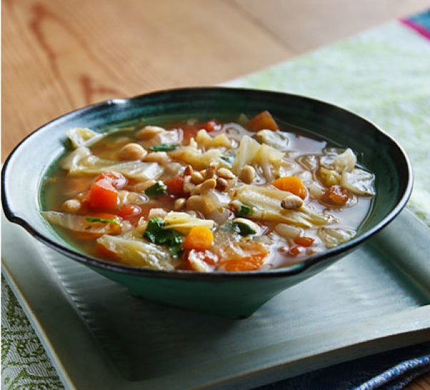 cabbage-chickpea-basil-soup