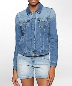 light jean jacket calvin klein