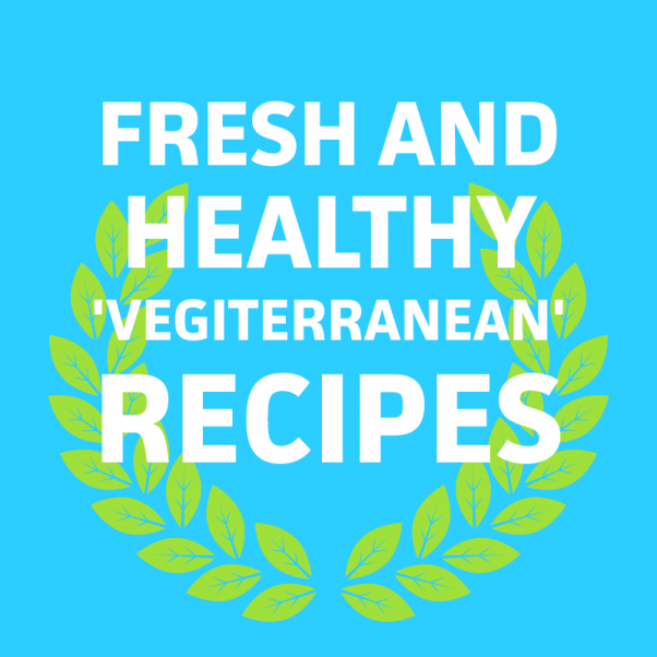 Πέτα-κοινωνική-φρέσκο-and-υγιή vegiterranean-συνταγές