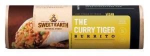 sweet earth curry burrito
