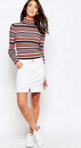 white skirt ASOS