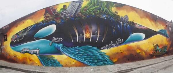 Free Lolita mural