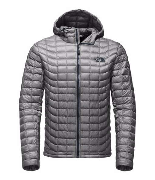 The North Face's patented ThermoBall insulation consists of clusters of synthetic balls, which achieve exceptional warmth in cold and wet weather.