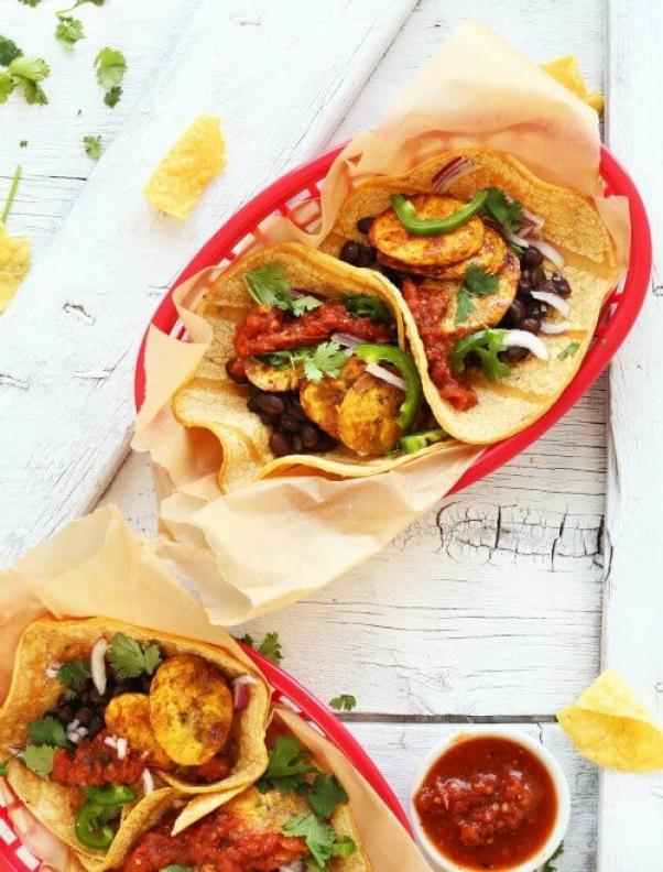 Spicy-Plantain-Black-Bean-Tacos-plantbased-vegan-glutenfree-tacos-recipe