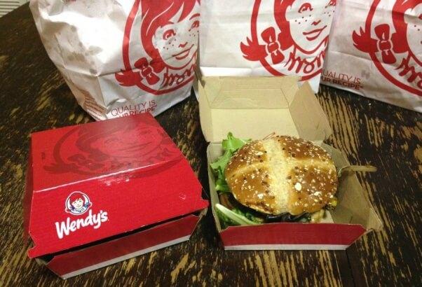 Wendy's Black Bean Burger