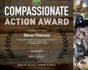 deer rescue award