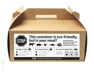 eco-friendly vegan container
