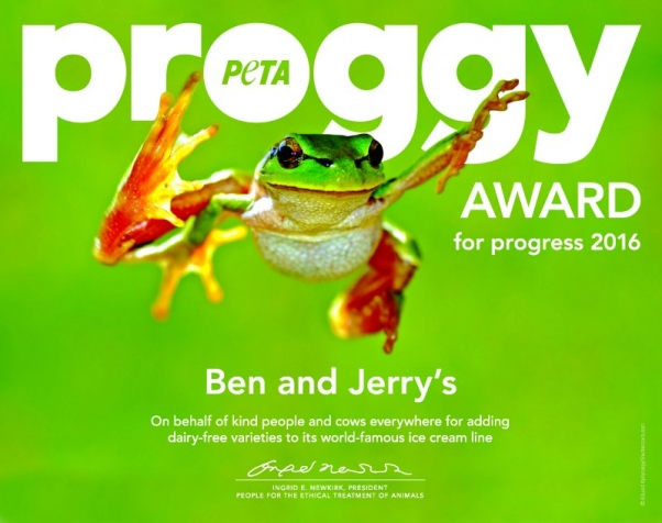 PROGGY Award for Ben & Jerry's